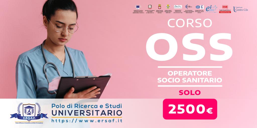 Corso OSS Operatore Socio Sanitario Regione Calabria